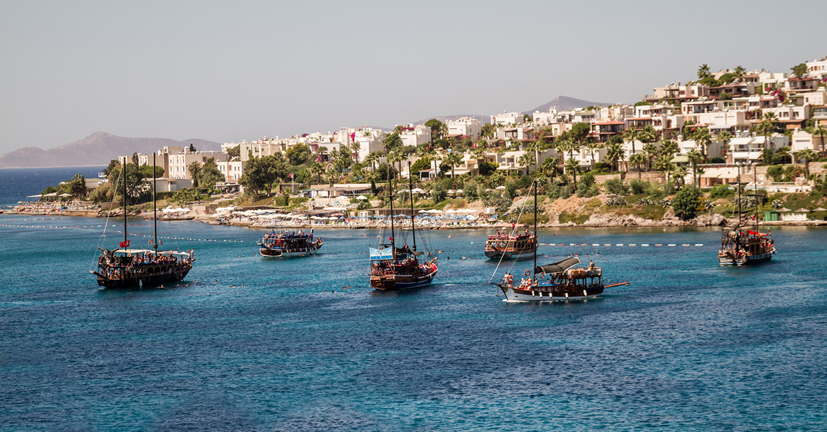 Akyarlar'ın Muhteşem Plajını Görün