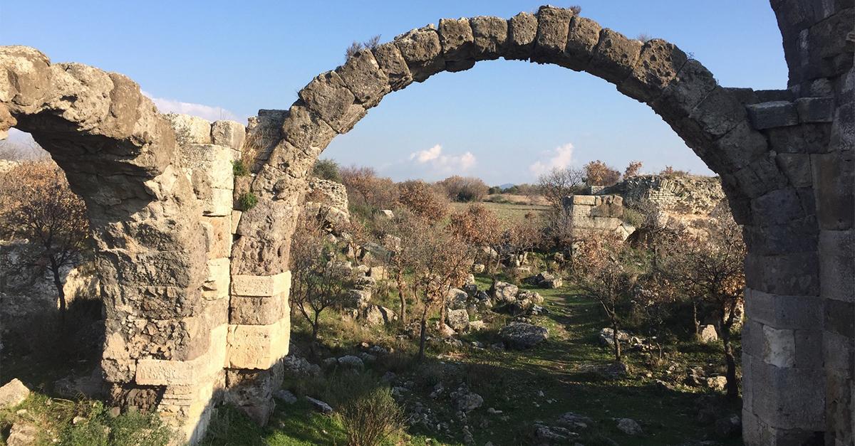 Alexandria Troas Antik Kenti Sokaklarında Yürüyün