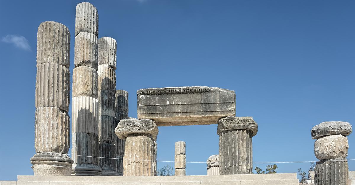 Apollon Smintheus Tapınağı'nı gezin
