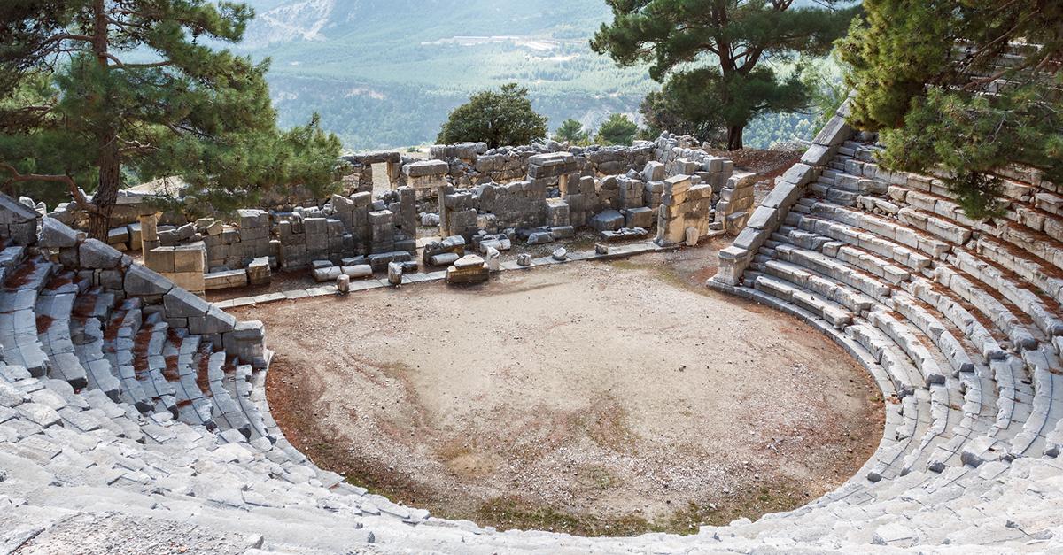 Arykandanin Hellenistik Harabeleri, Kaş
