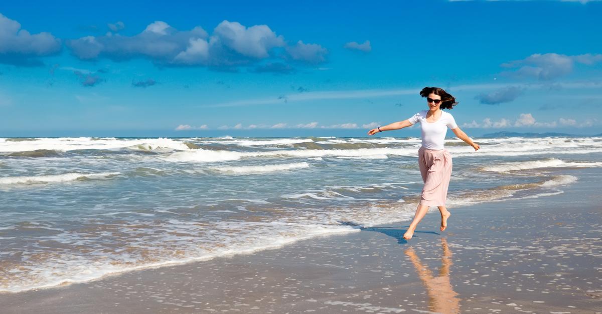 Çilingoz Plajı'nda Yüzün