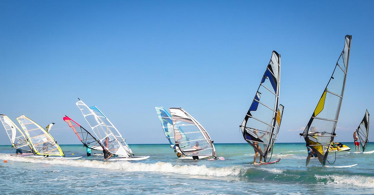 Datça Sahillerinde Rüzgar Sörfü Yapabilirsiniz