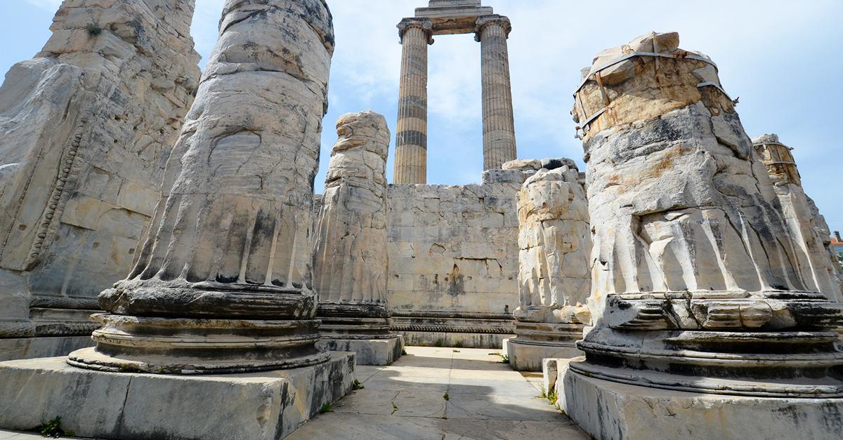 Didim Apollon Tapınağını Görün