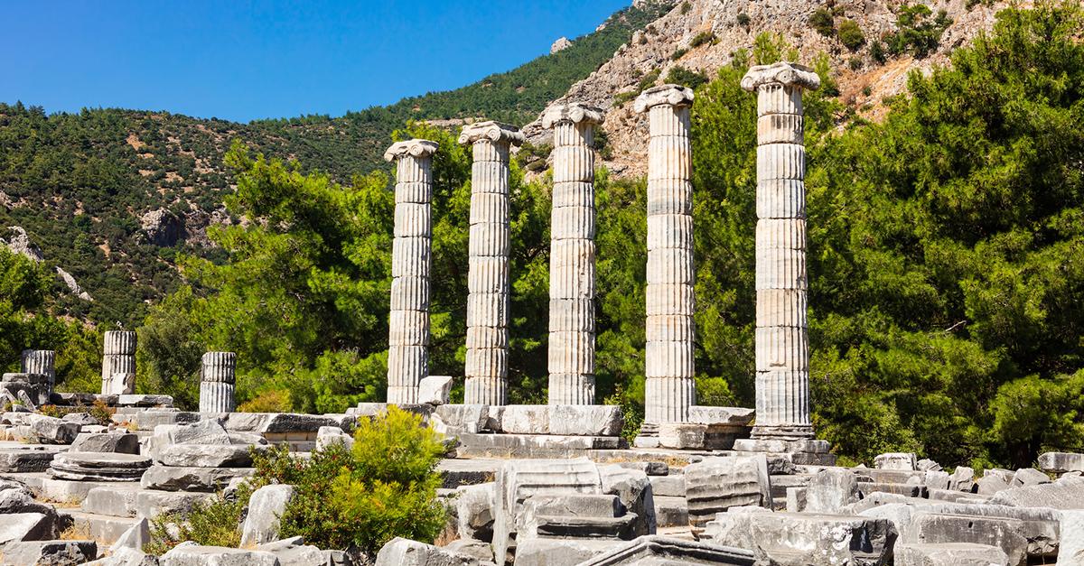 Dilek Yarımadası Çevresindeki Antik Kentleri Keşfedin