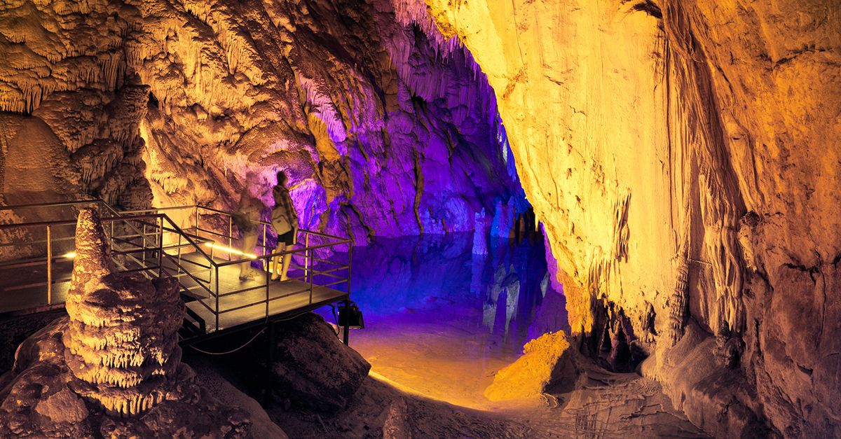 Dünyaca Ünlü Dim Mağarası'nı Gezin