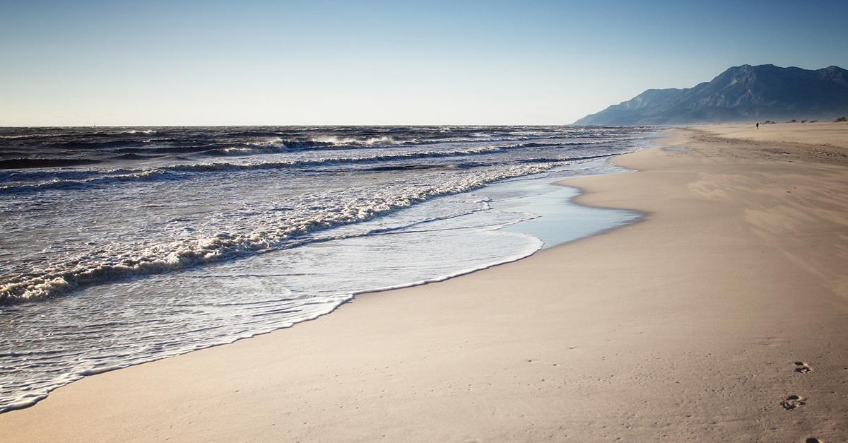 Dünyanın en güzel iki plajında yüzün