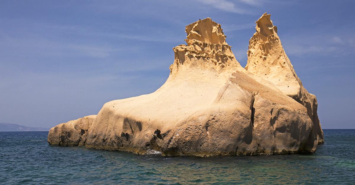 Gizemli Siren Kayalıklarını Görün