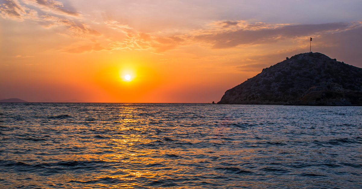 Günbatımı Plajı'nda Manzarayı Seyredin