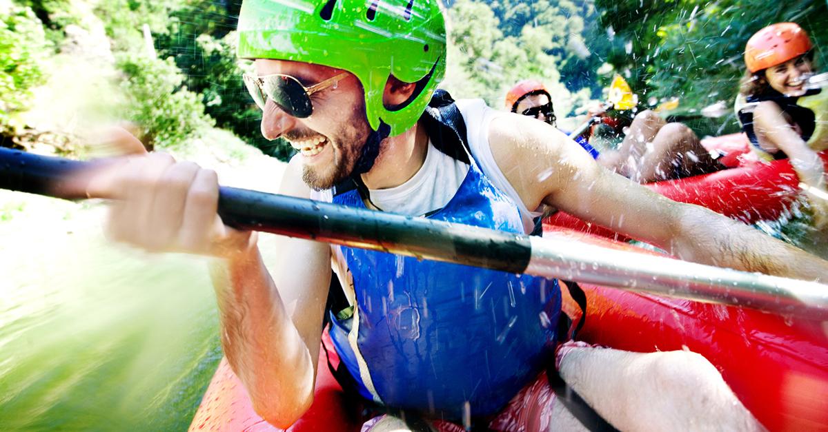 Hırçın Sularda Rafting Yapın