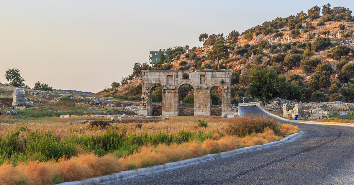 İslamlar Köyü Civarında Gezebileceğiniz Antik Kentler