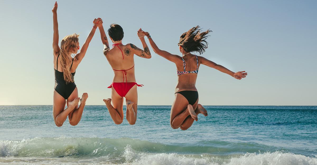 Kadınlar Plajı'nda Yüzün