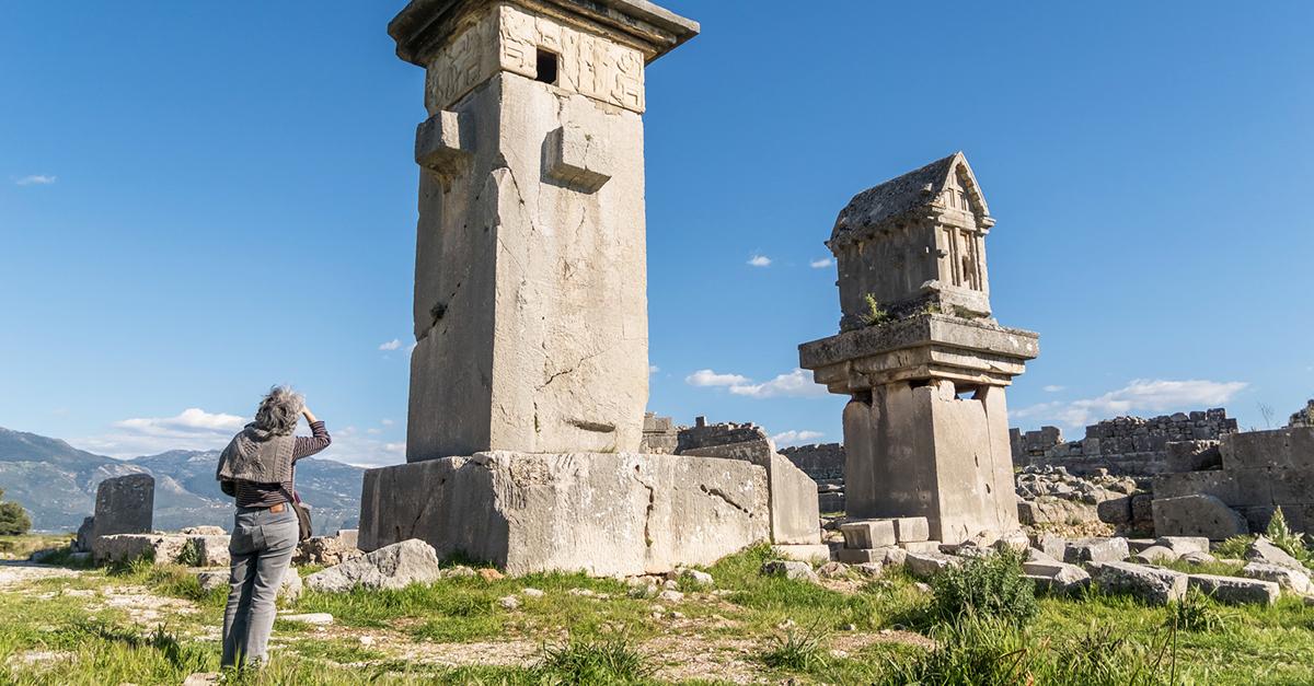 Kalkan ve Çevresindeki Tarihi Yerler