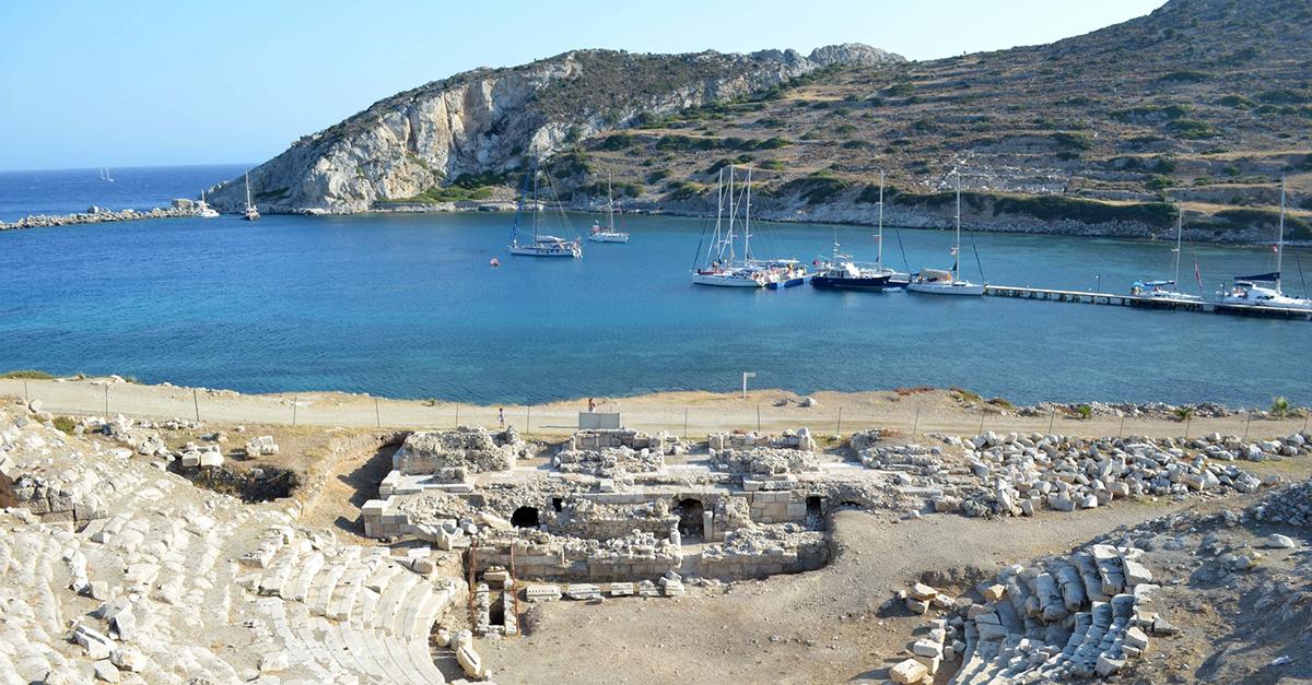 Knidos Antik Kentini Gezebilirsiniz