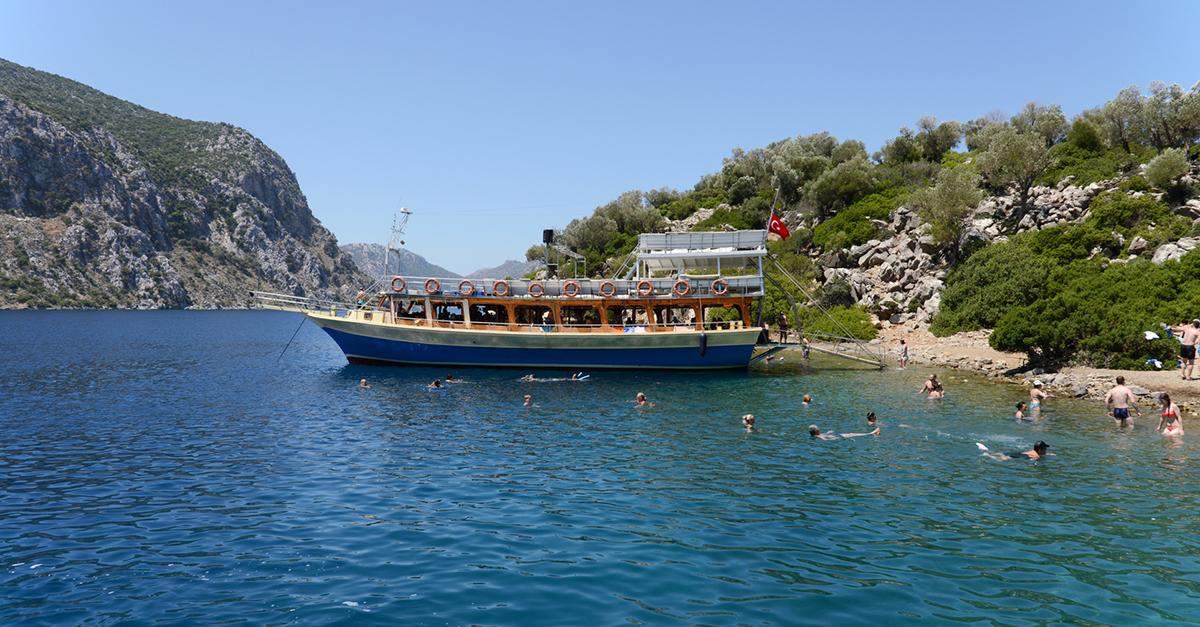 Marmaris'ten Ege Adaları Tekne Turuna Katılın