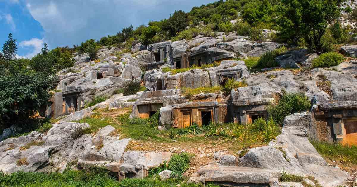 Mistik Limyra Antik Kenti, Kaş