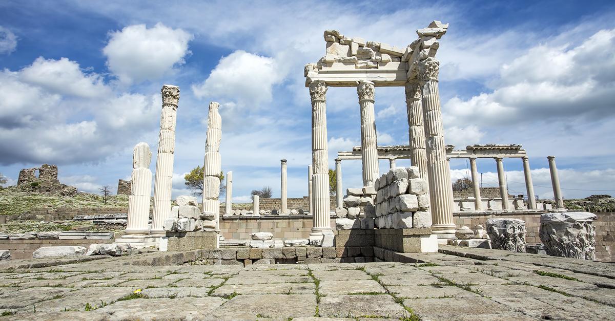 Muhteşem Bergama Antik Kenti'ni Gezin