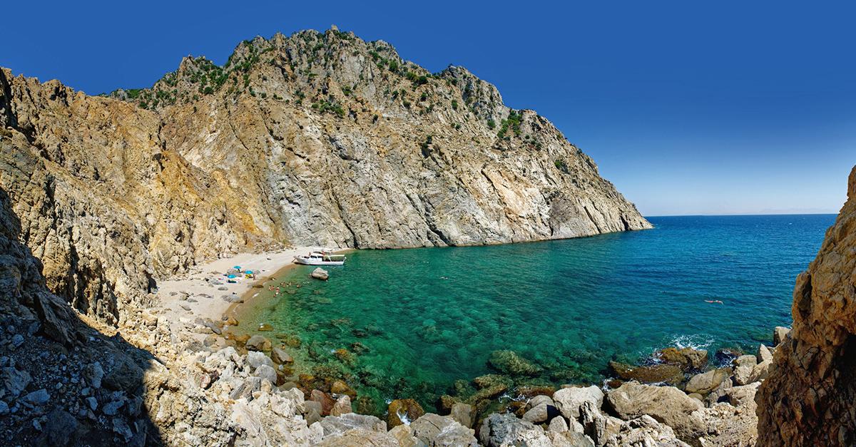 Şelaleler Adası Samothraki'yi Gezin