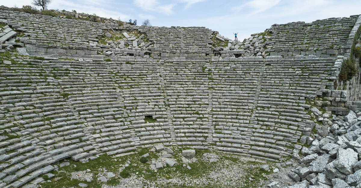 Selge Antik Kenti Kalıntıları Arasında Yürüyün