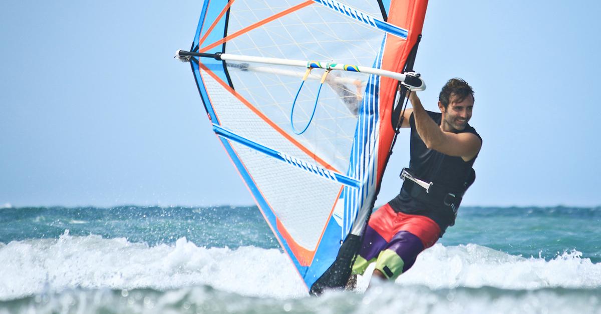 Tatilinizde RüzgarSörfünü Deneyin