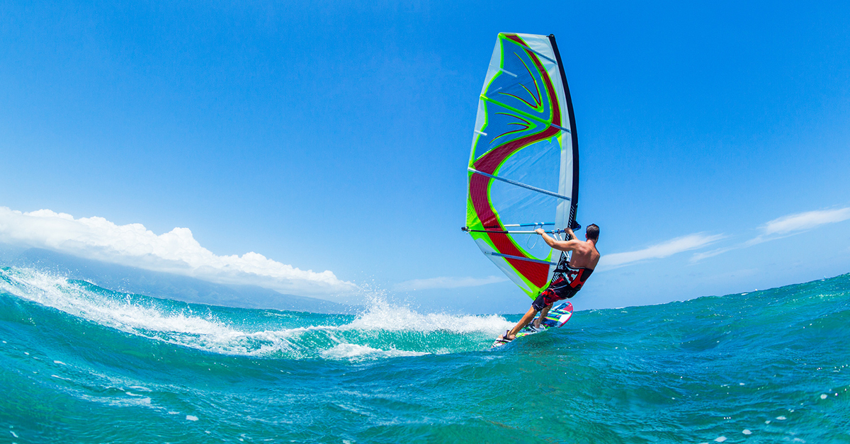 Tatilinizde Rüzgar Sörfünü Deneyin