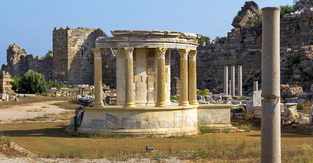 Tyche Tapınağını Keşfedin