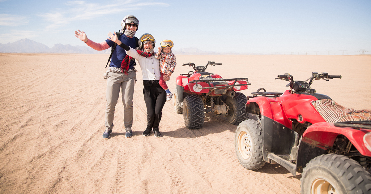 Üzümlü Çevresinde ATV Safari Yapın
