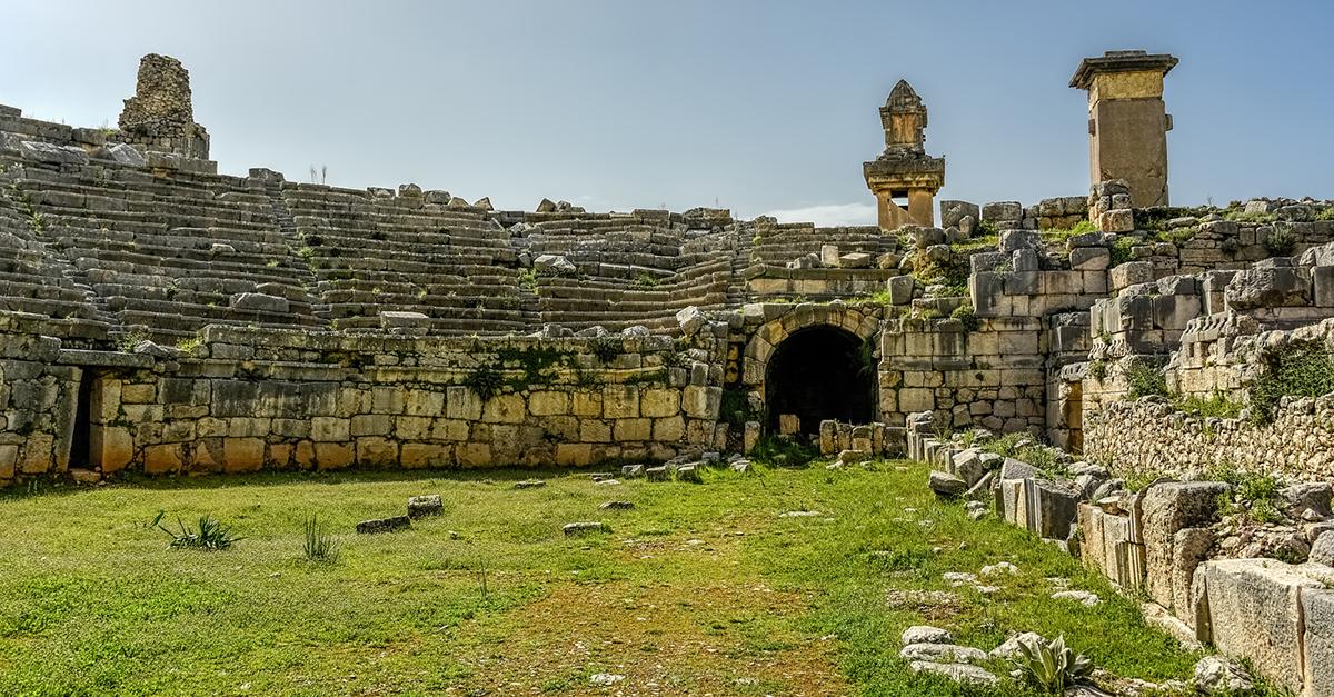 Xanthos Antik Kentini Gezin