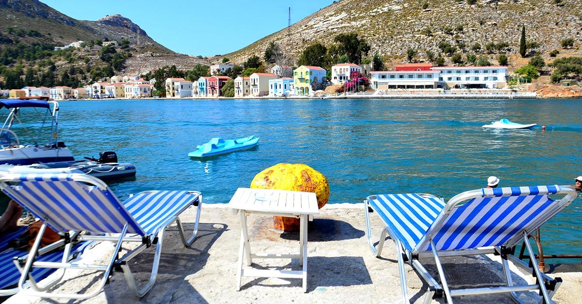 Yunan Meis Adası Sokaklarında Dolaşın