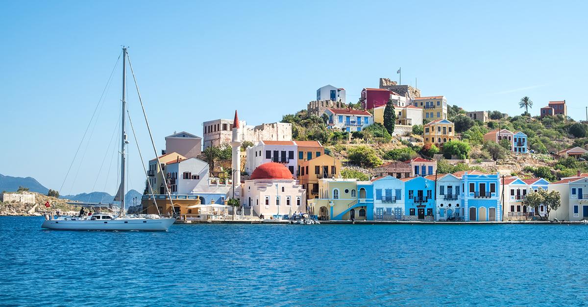 Yunan Meis Adasına Bir Yolculuk Yapın