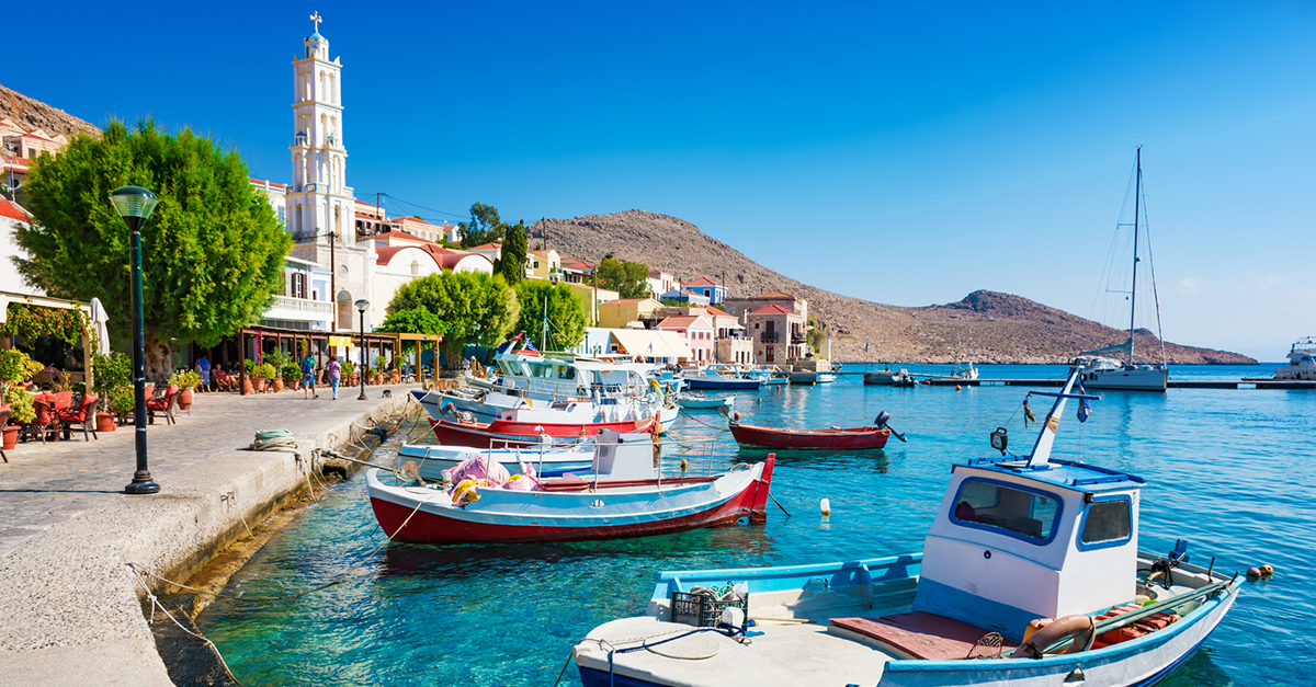 Yunan Rodos Adası'na Bir Tekne Gezisi Yapın