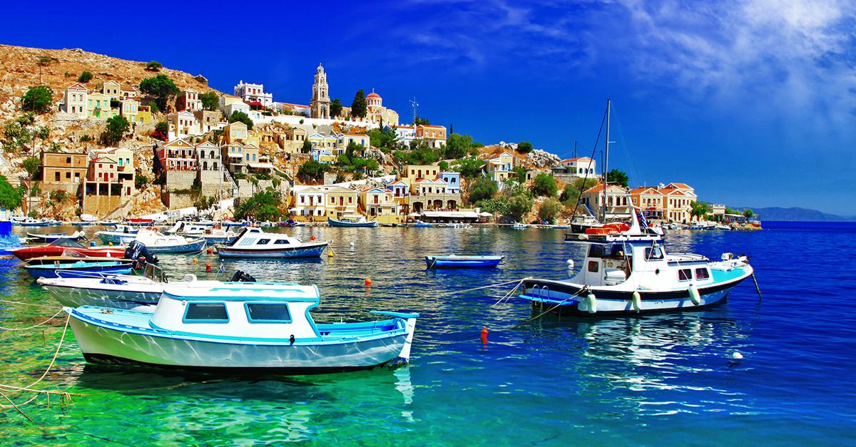 Yunan Rodos Adasına Bir Tekne Gezisi Yapın