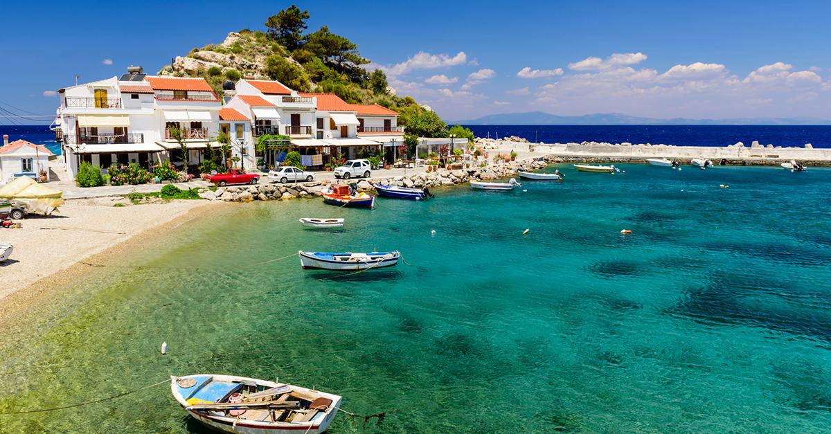 Yunan Samos Adasını Gezin