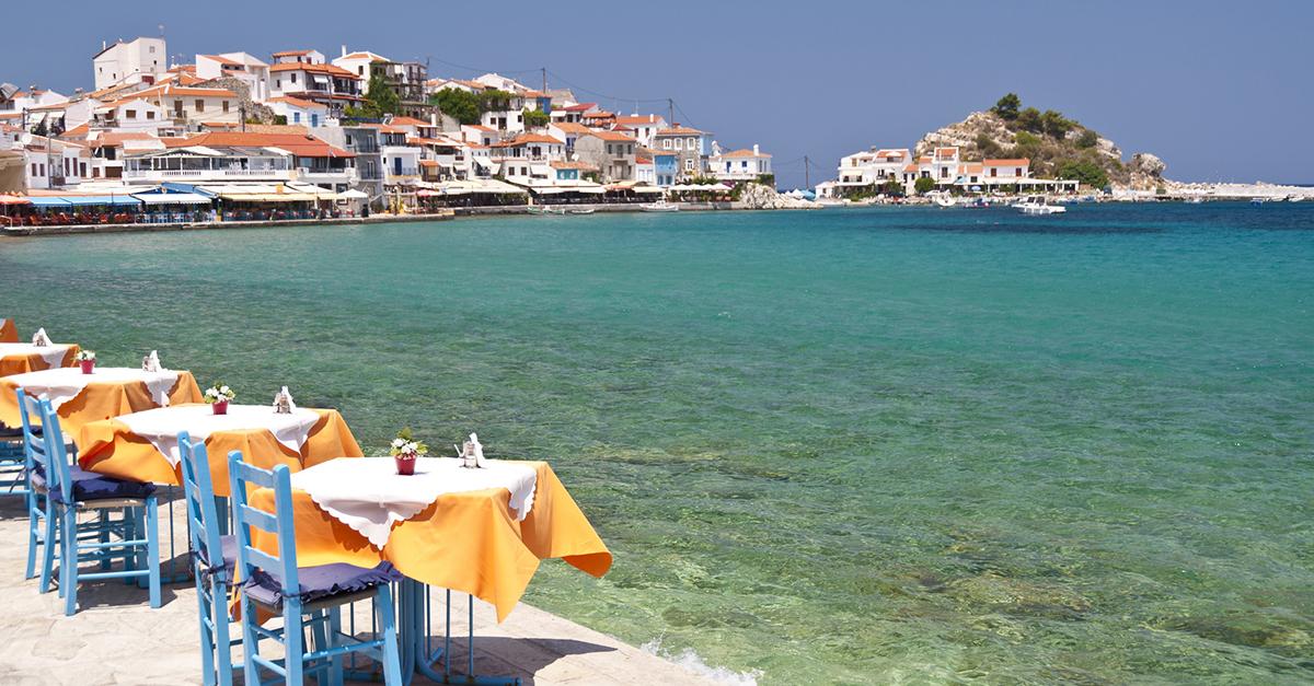 Yunan Samos Adasını Görün