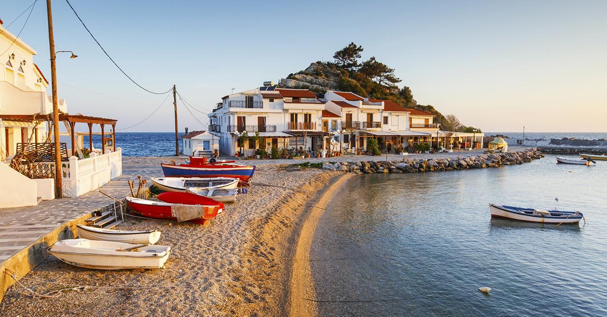 Yunan Sisam Adasını Gezin